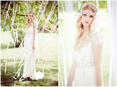 Jenny Packham 2012 collection at Fetcham Park | Eddie Judd Photography