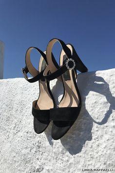 White//Mauve Flowers Sling Backs High Heel Doll Shoes for Vintage Elise