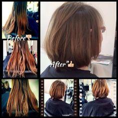 "#haircut#chop#chop January brings change new year new hair , new focus#fresh#newdo"""""""