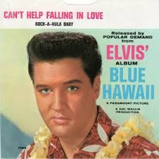Elvis Presley Blue Hawaii Record Can't Help Falling In Love Rock-A-Hula Valuable Vinyl Records, Old Vinyl Records, 45 Records, Vintage Records, Fall In Love Lyrics, Elvis Presley Blue Hawaii, Rock And Roll, Elvis Presley Movies, Musica