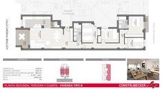 El residencial de Mislata Ramón Ibars (Valencia) está ya en marcha y prácticamente vendido por completo. Viviendas pasantes, bien resueltas y con espacios abiertos. Todas con al menos una terraza, garaje y trastero. Preciosas. Ramones, Patio, Valencia, Floor Plans, Parking Space, Storage Room, Open Spaces, Garage, Terrace