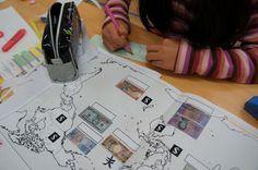授業風景 ~価値観「世界のお金」~