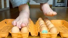 This fun science experiment for kids totally debunks the idea that eggs are fragile. Did you know you can stand on raw eggs and they won't break? To prove th...