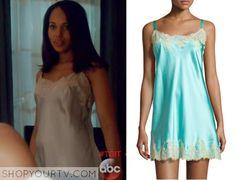 Scandal: Season 4 Episode 20 Olivia's Lace Trim Chemise