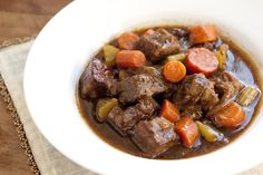 Beef and Guinness Stew Recipe from www.inspiredtaste.net #recipe #stew #fall