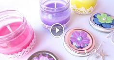 In questo video mostrerò come creare delle stupende candele profumate utilizzando lo strutto che sin dall'antichità, veniva utilizzato avendo un