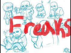 Underfell Sans x Frisk - Freaks ~Requested By: alexanderande~