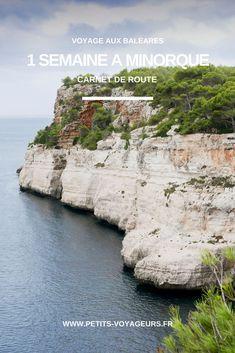 Retour sur mon séjour d'une semaine à Minorque. Je vous emmène en voyage dans les Baléares à travers quelques notes extraites de mon carnet de route. #Minorque #Menorca #Baléares #Blog #Espagne