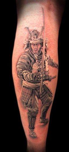 Samurai Tattoos 16