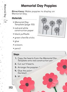 Learn about Memorial Day through fun and engaging word puzzles, crafts, and more! #MemorialDay #socialstudies Grade: K-2