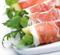 Appetizer Salads, Pork Recipes, Diet Recipes, Healthy Recipes, Bistro Food, Comida Latina, Slow Food, Prosciutto, Gastronomia