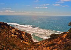 Artistic Landscape along the California Coast- a beautiful photographic and artistic rendition.