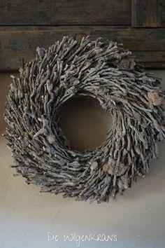 Krans botay grey wash doorsnede 50 cm