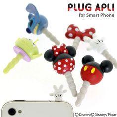 Plug Apli Disney Character Earphone Jack Accessory (Alien/ Little Green)