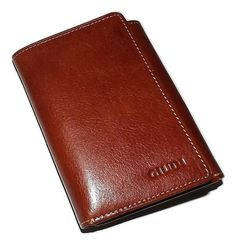 Giudi Italia Men's Tuscan Leather Trifold Credit Card ID Wallet Id Wallet, Italian Leather, Luxury, Cards, Ebay, Leather Products, Maps, Playing Cards, Leather Accessories