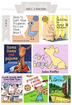 favorite picture books for 2-4 year olds