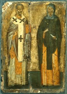 Byzantine Icons, Byzantine Art, Paint Icon, Small Icons, Russian Icons, Best Icons, Black History Facts, Fresco, Saint Nicholas