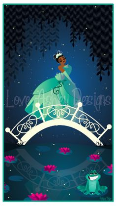 Princess and the Frog! Love, Ashley Designs 2012
