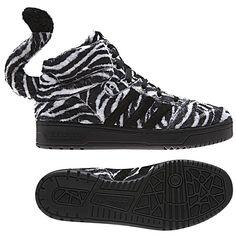 finest selection 2d20a d553c Adidas Jeremy Scott Zebra Shoes G95749 Zapatos De Cebra, Zapatillas Adidas,  Adidas Originales,