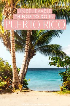 Looking for things to do in Puerto Rico? If you're headed to this amazing USA beach destination soon, here are some of the most unbelievable things to do and activities you can't miss in Puerto Rico! #USA #PuertoRico Cheap Places To Travel, Caribbean Vacations, Costa Rica Travel, Travel Guides, Travel Tips, Travel Around, Travel Usa, Puerto Rico, Travel Inspiration