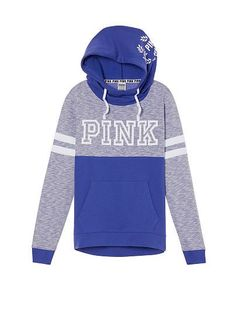 Cross-Over pullover pink. Stylish Hoodies, Comfy Hoodies, Sweatshirts, Pink Hoodies, Pink Shirts, Pink Outfits, Cool Outfits, Casual Outfits, Victoria Secret Outfits