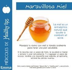 Miércoles de Healthy Tips: Conoce algunas de las propiedades más increíbles de la miel. Emma Tips. (Emma Novias y Cocktail no es dueña de parte de ésta imagen, sólo del diseño. Todos los derechos reservados al creador original de las fotografías.)