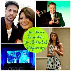 You Never Know Who You'll Meet at Hispanicize - actors, TV Hosts, etc. YourSassySelf.com