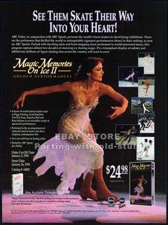 MAGIC MEMORIES ON ICE II__Original 1993 Trade Print AD / promo__PEGGY FLEMING