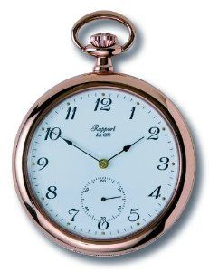 Rapport of London Rose Gold Open Face Pocket Watch Rapport of London. $460.00