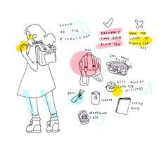 sarlis' bag // drawing inspiration