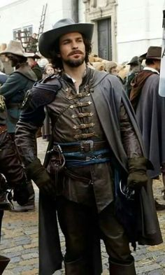 Aramis - new pic - courtesy of TLC Bbc Musketeers, The Three Musketeers, The Muskateers, Aramis And Anne, Tom Burke, Bbc Tv Series, Historical Costume, Attractive Men, Gorgeous Men
