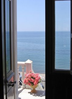 I want this view outside my bedroom. Lesvos, Greece