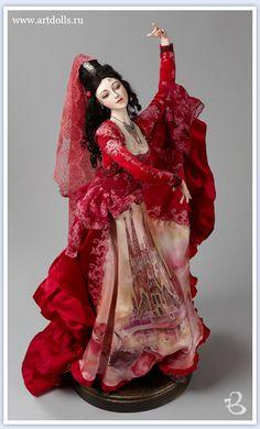 by Ella Kim Pretty Dolls, Beautiful Dolls, Beautiful Ladies, Ooak Dolls, Art Dolls, Bjd, Color Harmony, Magic Art, Doll Repaint