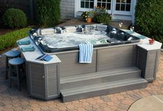 Dreaming of a hot tub? Design your own colors, jets and hot tub model, then get a quote on your dream hot tub!