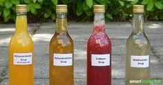Blüten- und Beerensirups - Genuss mit natürlichen Aromen zu jeder Jahreszeit