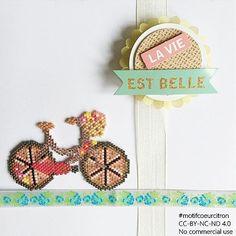 Voilà la bête avec les roues pleines. Je tenterai plus tard les roues vides. Bises IG #perlesandco #perlescorner #velo #bike #bicycle #miyuki #miyukibeads #perlesaddict #perlesaddictanonymes #jesuisunesquaw #jenfiledesperlesetjassume #motifcoeurcitron #tissageperles #tissage #diy #handmade #creation #createurfrancais #brickstitch