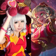League of legends LOL Sweetheart Annie Cosplay Costume Kostüm Kleid wig bear in Kleidung & Accessoires, Kostüme & Verkleidungen, Kostüme | eBay