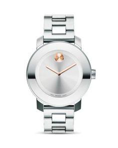 Movado BOLD Medium Stainless Steel Watch, 36mm   Bloomingdale's