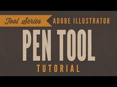 Adobe Illustrator CC Tutorial - Pen Tool - YouTube