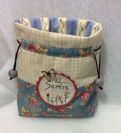 Sabelapatch: Más ratonas y bolsas y...tutorial bolsas acolchadas