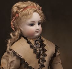 Beautiful Antique French Fashion Doll