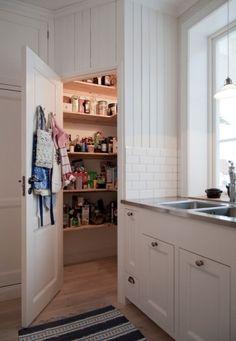 - Home Decoration Corner Pantry, Kitchen Pantry, New Kitchen, Kitchen Storage, Kitchen Dining, Kitchen Decor, Kitchen Cabinets, Food Storage, Interior Design Layout