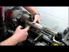 Homemade lathe part 7 - YouTube