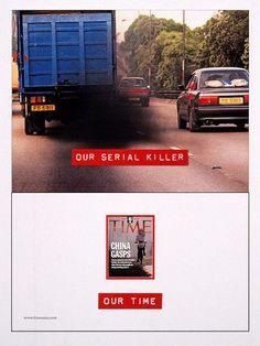 Time. Our serial killer. Our Time. Bates Hong Kong, novembre 2001