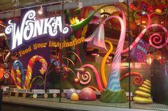 Resultado de imagen para willy wonka store