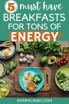 Trying to figure out how to get more energy? Try one of these delicious energy-packed healthy breakfast recipes! (sponsored) Balanced Breakfast, Healthy Breakfast Options, Make Ahead Breakfast, Eat Breakfast, Healthy Options, Nutritious Meals, Healthy Fats, Healthy Eating, Low Fat Yogurt