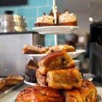 The famous Chelsea Bun at Fitzbillies Chelsea Bun, Tea Service, Travel Deals, Afternoon Tea, Wine Recipes, French Toast, Sandwiches, Cambridge, Baking