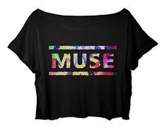 MUSE women's Crop Top Muse Shirt English Rock Alternative