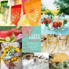 A Mexican Fiesta Rehearsal Dinner : wedding decor rehearsal Fiesta