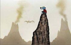 Liste der Daseinsformen – Zamonien Wiki – Walter Moers, Romane, Rumo, Käpt'n Blaubär, Labyrinth der Träumenden Bücher Labyrinth, Watercolor Animals, Artemis, Continents, Book Art, Batman, Animation, Earth, Fantasy